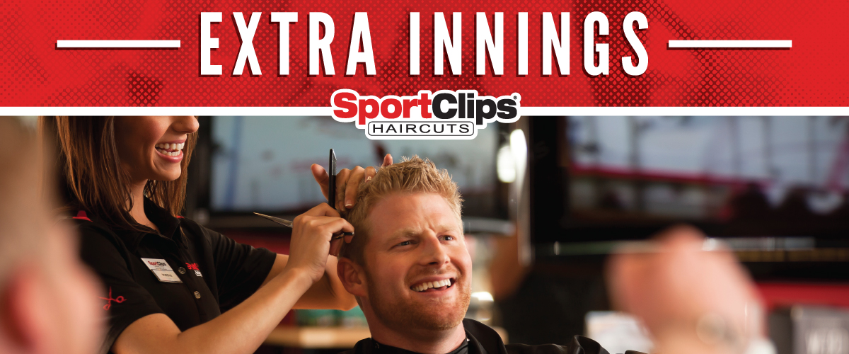 The Sport Clips Haircuts of Sulphur Extra Innings Offerings